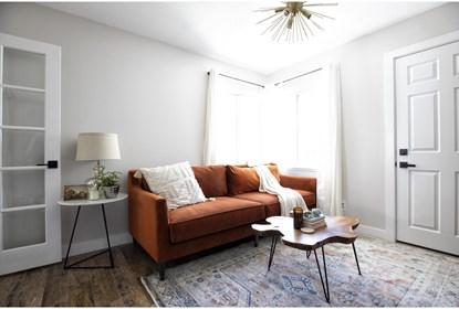 Ames Mocha Sofa By Nate Berkus And Jeremiah Brent | Living Spac