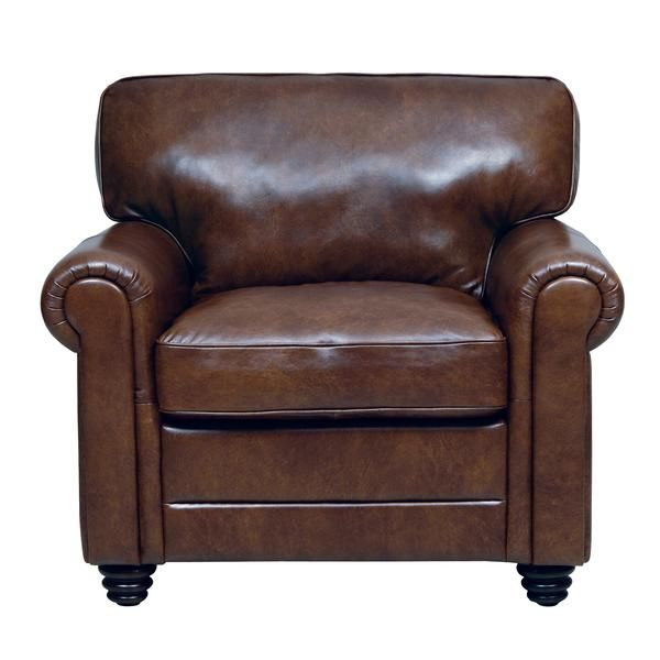 Andrew Leather Chair (With images) | Affordable leather cha