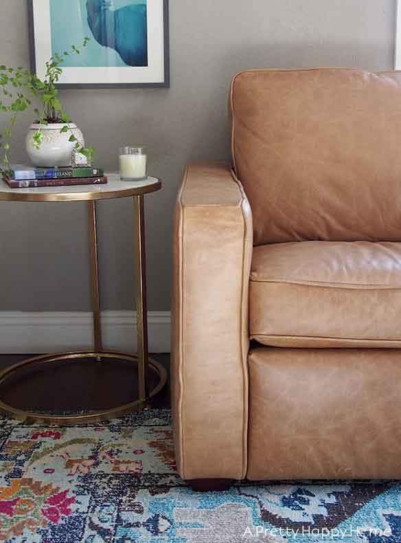 Is the Amazon Rivet Andrews Leather Sofa worth i