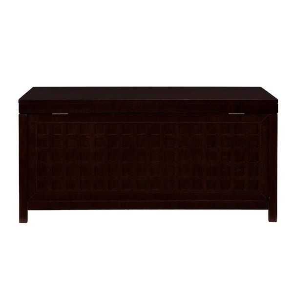 Shop Anson Cocktail Trunk Table - Espresso - Overstock - 215847