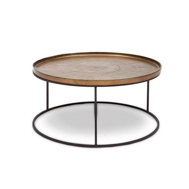 Sana Coffee Table In Antique Brass (IJ-SANA-CT-AB) by Urbia Impor