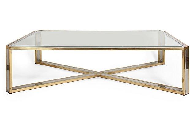 Brass Coffee Tables - Ideas on Fot