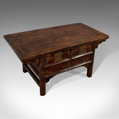 Antique Style Pine Coffee Table, 1950s for sale at Pamo