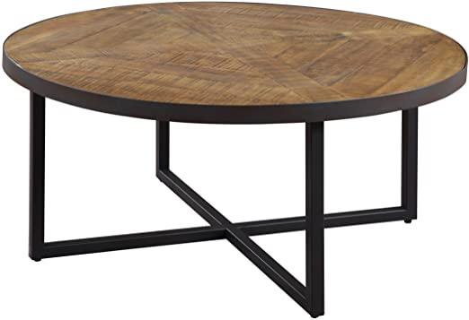 Amazon.com: Emerald Home Denton Antique Pine Coffee Table with .