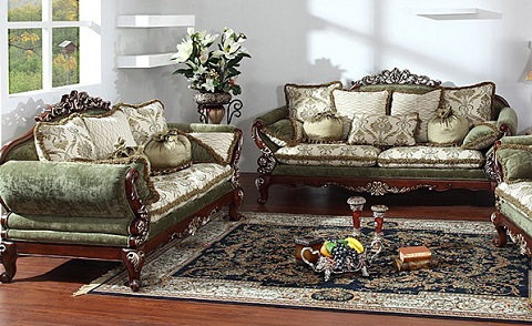 Antique Sofa Sets From AFD - Beautiful Replicas For An Elegant .