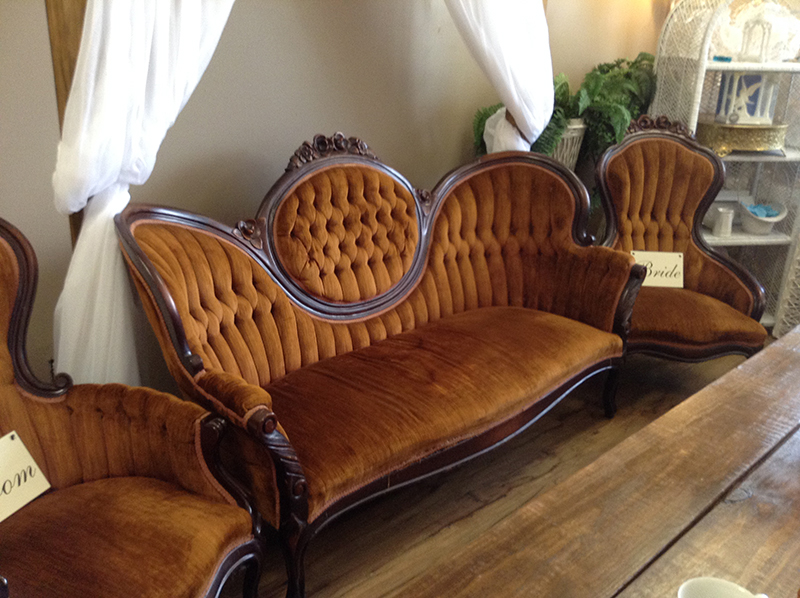 Antique Sofa w/ 2 Chairs – Party Time Ren
