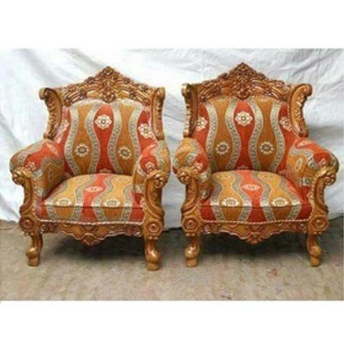 Living Room Antique Sofa Chair, लकड़ी की सोफे की .
