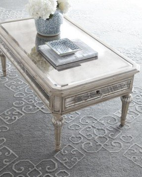 Antique Mirrored Coffee Table - Ideas on Fot