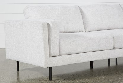 Aquarius II Light Grey 2 Piece Sectional With Right Arm Facing .