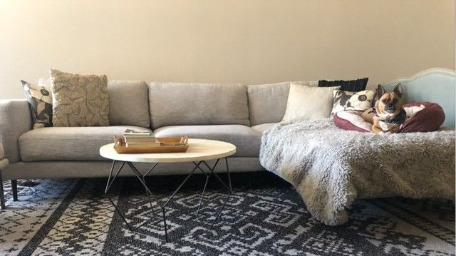 Aquarius Light Grey 2 Piece Sectional W/Raf Chaise | Living Spaces .
