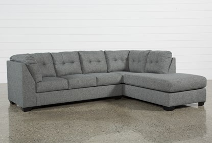 Arrowmask 2 Piece Sectional W/Sleeper & Right Arm Facing Chaise .