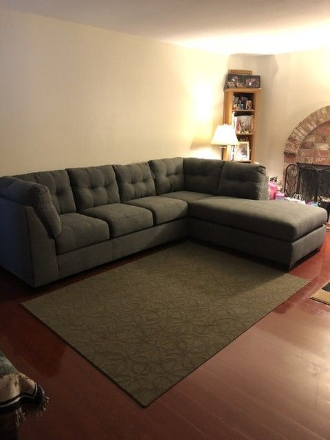 Arrowmask 2 Piece Sectional with Right Arm Facing Chaise | Family .