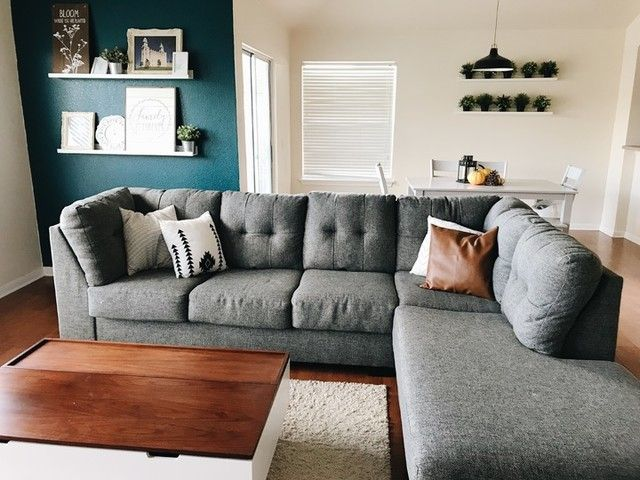 Arrowmask 2 Piece Sectional with Right Arm Facing Chaise | Chaise .