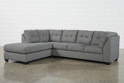 Ashley Arrowmask 2 Piece Sectional Sofa with Left Arm Facing .