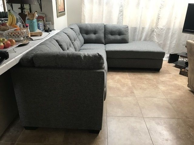 Arrowmask 2 Piece Sectional with Right Arm Facing Chaise in 2020 .