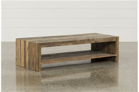 $495 Tahoe II Cocktail Table - Main | Coffee table, Dark wood .