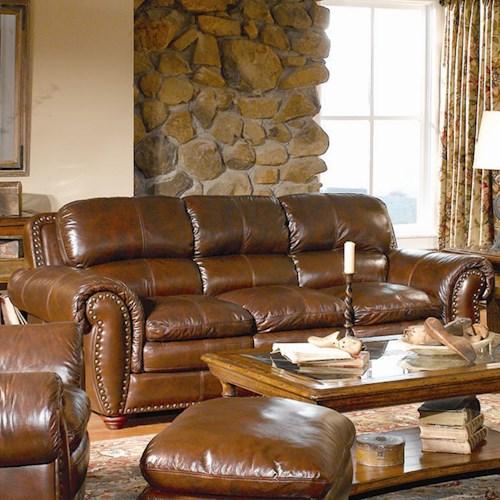 Leather Italia USA Aspen Leather Sofa - SofaDealers.c