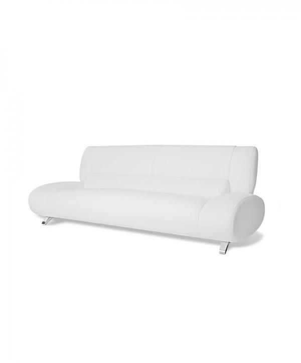 White Aspen Leather Sofa – Vitrine theme – Demo 34 ( tiles .