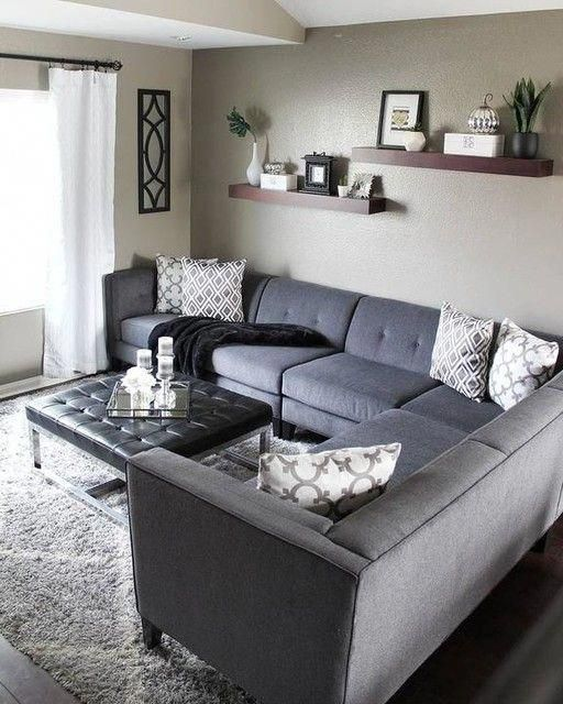 Avery 2 Piece Sectional W/Laf Armless Chaise #livingroomdecor .