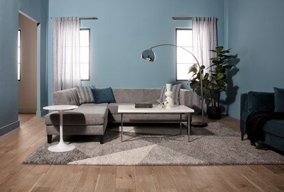Avery II 2 Piece Sectional With Left Facing Armless Chaise .