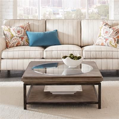 Riverside Furniture – Axis Square Coffee Table | Riverside .