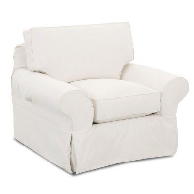 Klaussner Madison Slipcovered Chair (Assorted Colors) | Slipcovers .