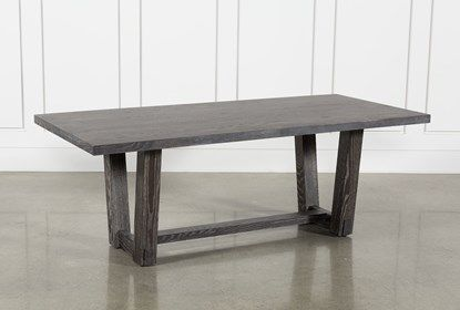 Bale Rustic Grey Dining Table | Living Spaces (With images .