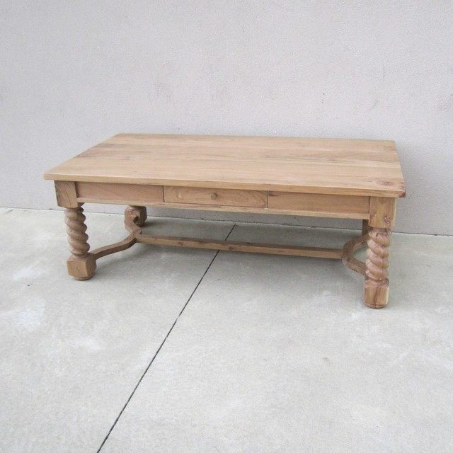 Barley Twist Coffee Table - Nadeau Columb