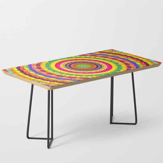 Batik Bullseye Coffee Table by petergross | Societ