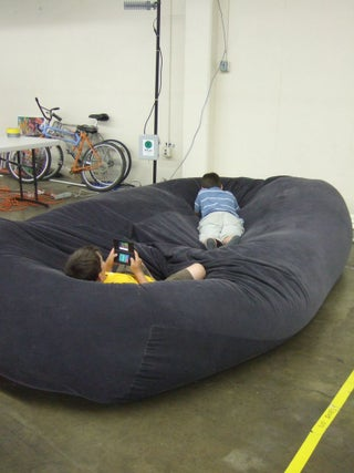 Bean Bag Sofa / Bed : 8 Steps (with Pictures) - Instructabl