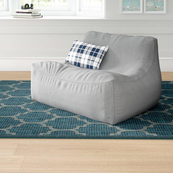 Grovelane Large Sunbrella® Outdoor Friendly Bean Bag Sofa .