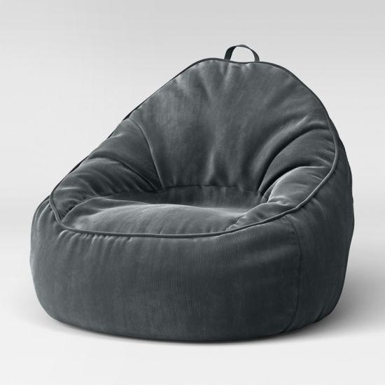 China Floor Velvet Bean Bag Sofa Chair - China Velvet Sofa Chair .