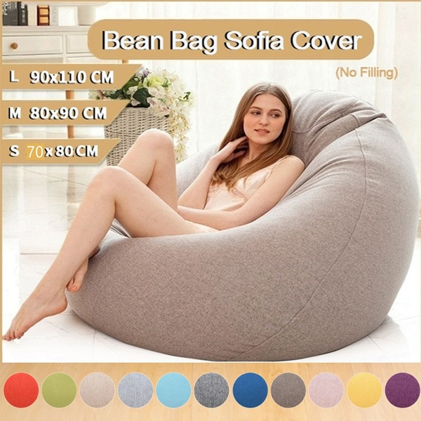 11 Colors Stylish Bean Bag Sofa Cover Chairs Couch Seat Bean Bag .