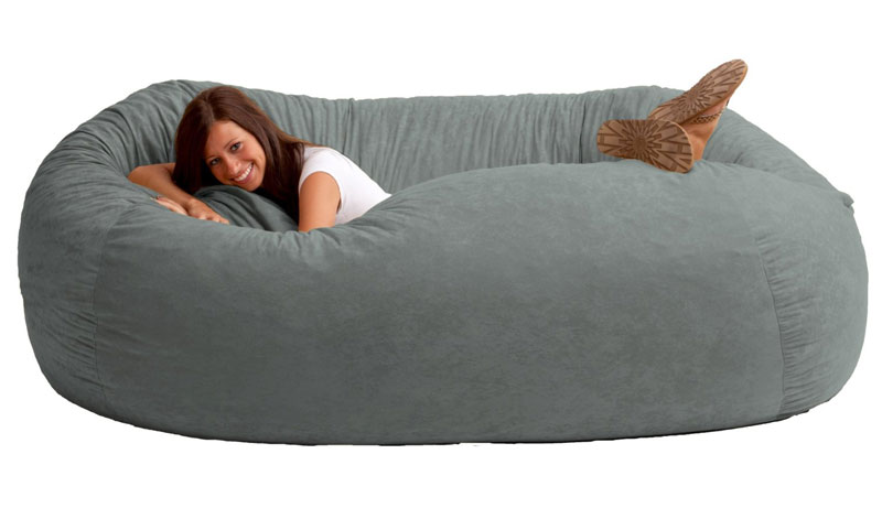 Giant Bean Bag Sofa | DudeIWantThat.c