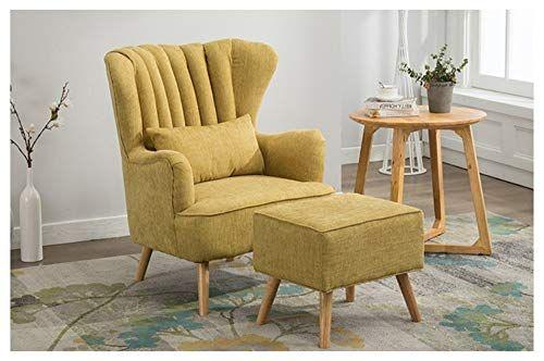 Lazy Sofa Single Chair Fabric Sofa Bedroom Living Room Office .