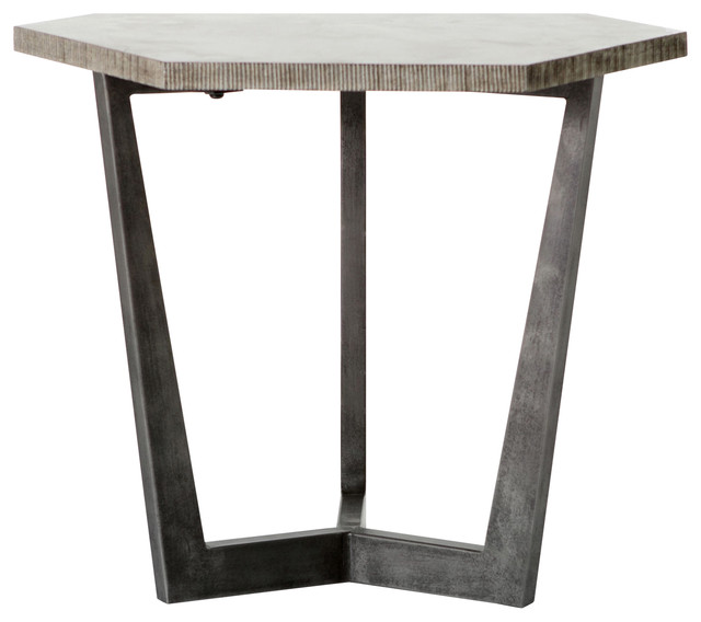 Quentin End Table - Industrial - Side Tables And End Tables - by .