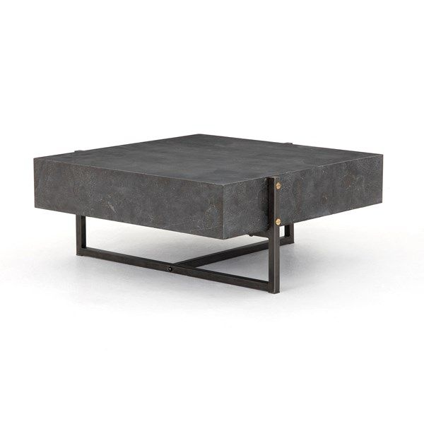 Living Room | Keppler Square Coffee Table-Bluestone | Coffee table .