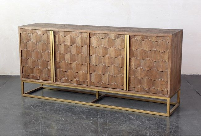 Boyce Sideboard | Living Spaces | Sideboard living, Upholstered .