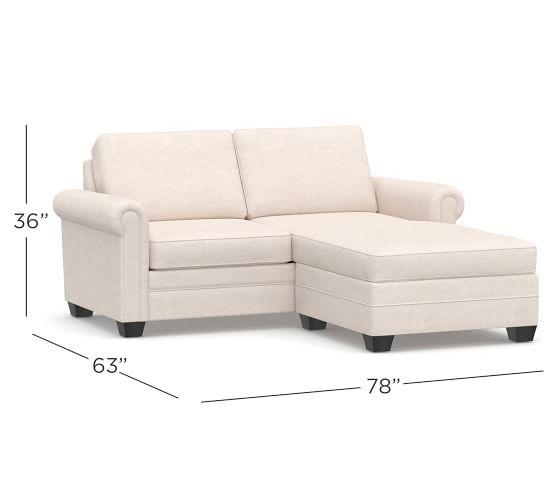SoMa Brennan Upholstered Small Sofa | Pottery Ba