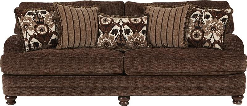Brennan Sofa in Espresso Fabric by Jackson Furniture - 4438-03