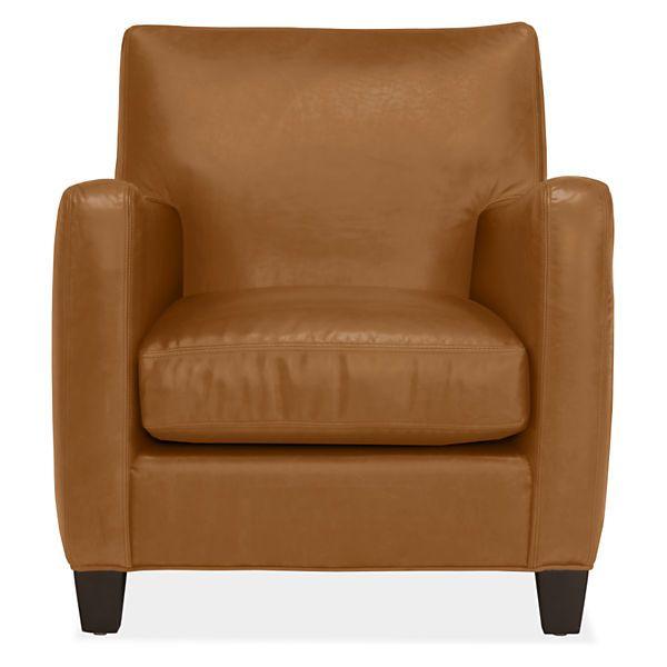 Room & Board - Brennan Chair | Leather chair, Chair, Chair and ottom