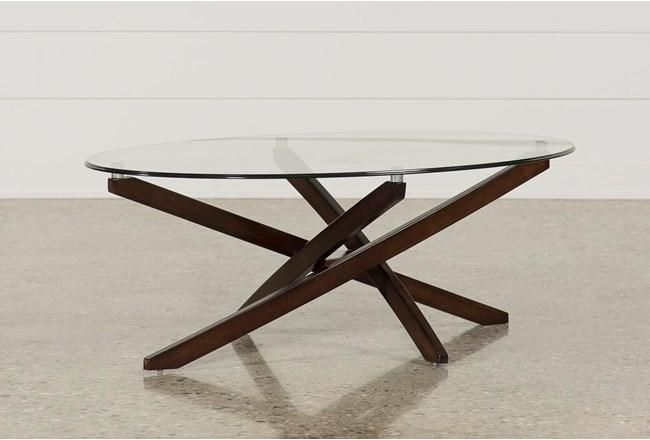 Brisbane Oval Coffee Table | Coffee table living spaces, Glass .