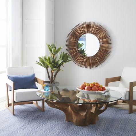 "Broll Coffee Table - 60""dia. | Coffee table, Table, Dining tab"