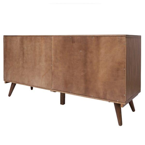 Shop Piero Chevron 4-drawer 4-door Buffet - Overstock - 280646