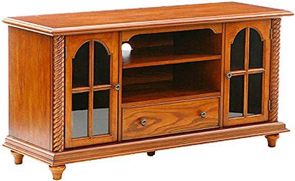 "Amazon.com: Southern Enterprises 50"" Television Stand - Windowpane ."