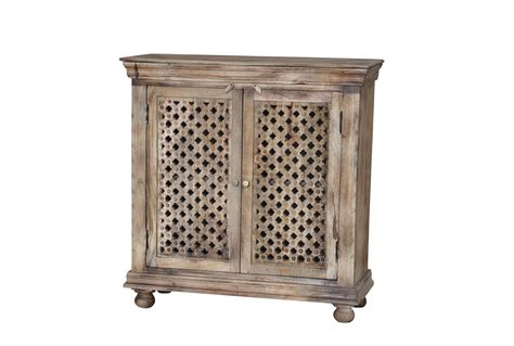 Burn Tan Finish 2-Door Sideboard | Furniture | Sideboard .