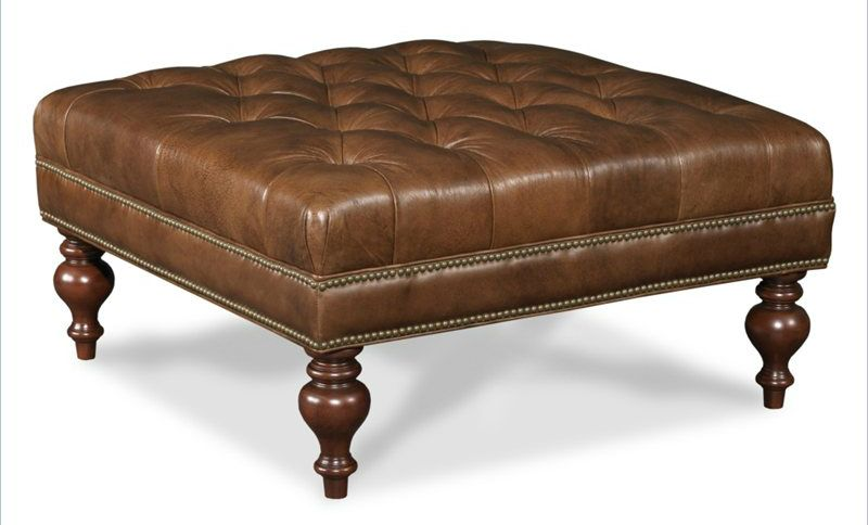 36 Top Brown Leather Ottoman Coffee Tables | Tufted ottoman coffee .