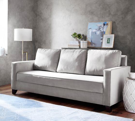 Cameron Square Arm Upholstered Platform Sleeper Sofa Bed | Pottery .