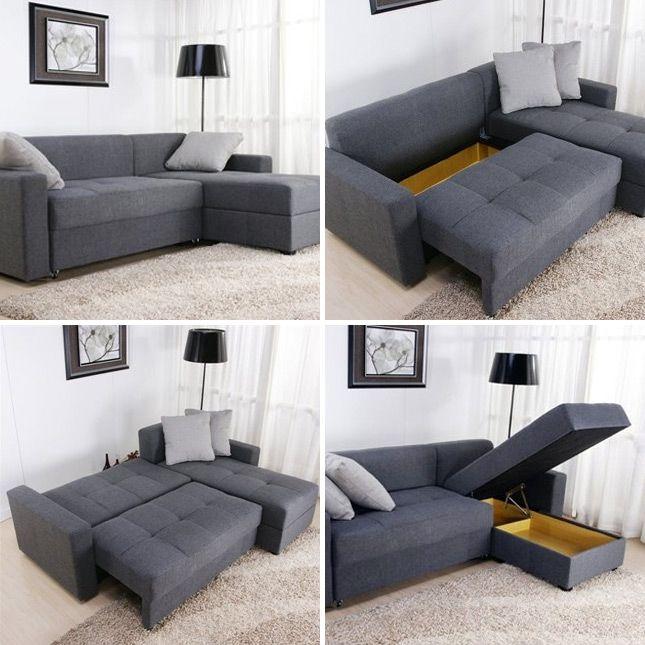 Tiny Sectional Sofa - Ideas on   Tiny house furniture, Furniture .