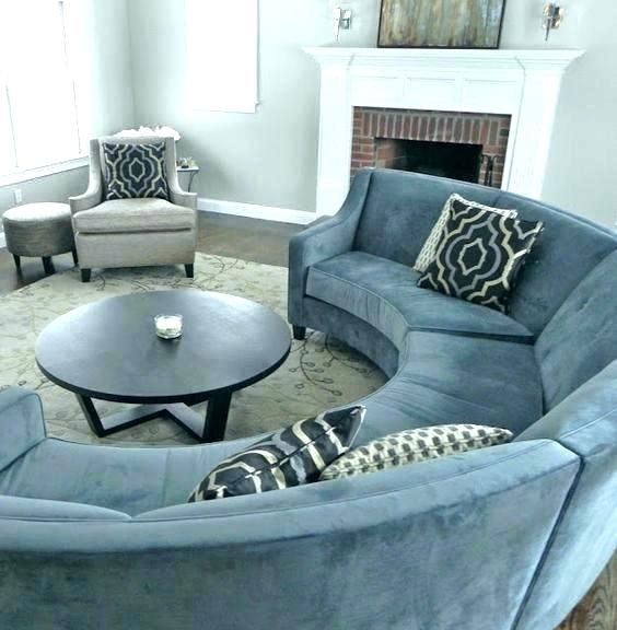 Circular Sectional Couch Half Circle Couches Semi Couch Sofa .